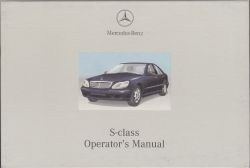 2000 Mercedes-Benz S-Class Factory Owner's Manual