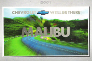 2001 Chevrolet Malibu Factory Owner's Manual