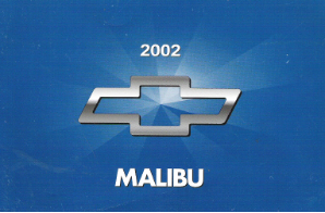 2002 Chevrolet Malibu Factory Owner's Manual
