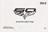 2013 Chevrolet Corvette Factory Owner's Manual