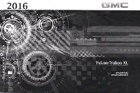 2016 GMC Yukon & Yukon XL Owner's Manual