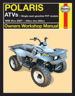1998 - 2007 Polaris 250 - 800 Big Boss 6x6, Magnum, Scrambler, Sportsman, Trail Blazer, Trail Boss, Xplorer, Xpress, Haynes ATV Owners Workshop Manual