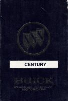 1990 Buick Century Owner's Manual