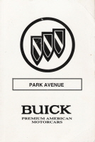1991 Buick Park Avenue Owner's Manual