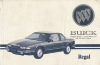 1993 Buick Regal Owner's Manual