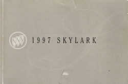 1997 Buick Skylark Owner's Manual