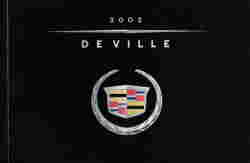 2002 Cadillac Deville Owner's Manual