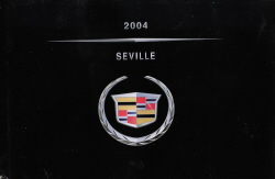 2004 Cadillac Seville Owner's Manual