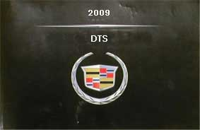 2009 Cadillac DTS Owner's Manual Portfolio