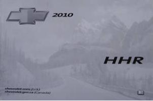2010 Chevrolet HHR Factory Owner's Manual