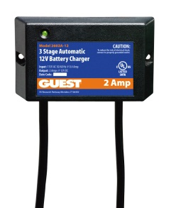 Guest 2 Amp Single Battery ChargePro Charger