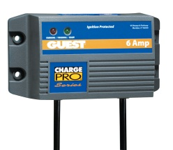 Guest 28106 6 Amp Single Battery ChargePro Charger