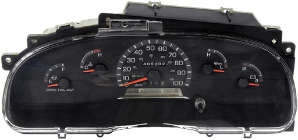 2002 Ford E350 Econoline, E350 Super Duty Van Instrument Cluster Repair (Diesel)