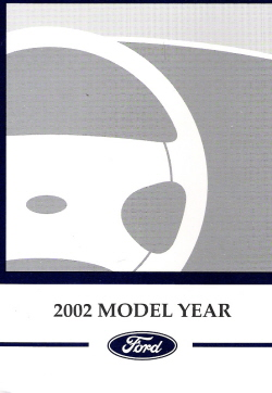 2002 Ford Focus Owner's Manual with Case