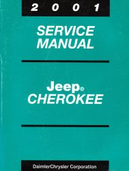 2001 Jeep  Cherokee Service Manual