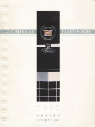 1990 Cadillac Fleetwood Owner's Manual
