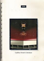 1991 Cadillac DeVille Owner's Manual