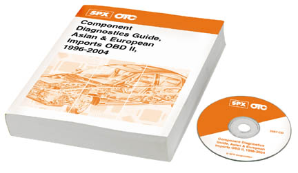 1996 - 2004 OTC Component Diagnostics Guide, Asian & European Imports OBD II Book & Trial CD