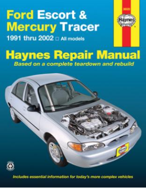 1991 - 2002 Ford Escort & Mercury Tracer Haynes Repair Manual