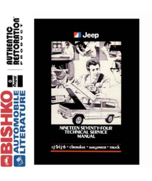1974 Jeep (All Models) Factory Service Manual on CD-ROM