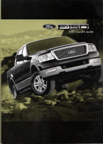 2004 Ford F-150 Owner's Manual with Case