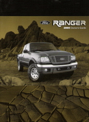 2004 Ford Ranger Owner's Manual