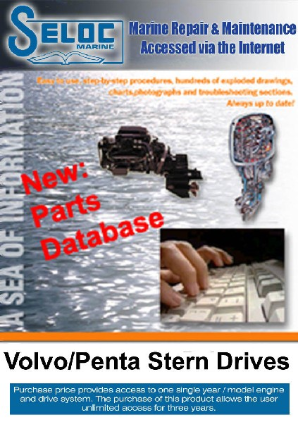 Seloc OnLine Electronic Repair with Part Numbers & Part Prices- Volvo Penta Stern Drive 1968 - 2007