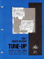 Mack Truck 2007 Engine Tune-Up Specifications