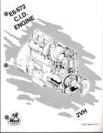 Mack E6 -672 c.i. 2VH Diesel Engine Overhaul Procedures Manual