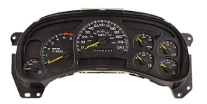 2003 - 2005 GMC/Chevrolet Avalanche Sierra Silverado Suburban Tahoe Yukon Instrument Cluster Repair (with Trans Temp Guage)