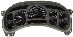 2003 - 2005 GMC Yukon Denali, XL & Luxury Edition Instrument Cluster Repair