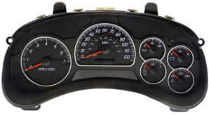 2003 - 2005 GMC Envoy Instrument Cluster Repair w/ Driver Info Center