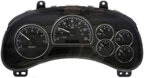 2005 Buick Rainier Instrument Cluster Repair