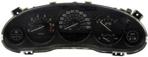 1997 - 1998 Buick Century and Regal 4 Gauge Instrument Cluster Repair