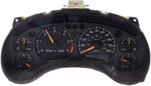 2005 Chevrolet Blazer Instrument Cluster Repair