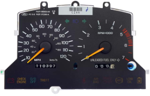 1996 - 1998 Ford Mustang Instrument Cluster Repair (2 Gauge, w/ Tach)