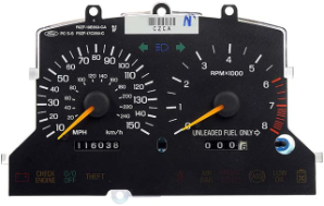1995 - 1998 Ford Mustang GT Instrument Cluster Repair (2 Gauge, 150 MPH)