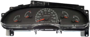 1999 - 2001 Ford E150, E250, E350, Cut Away, SD Econoline Van Instrument Cluster Repair Gas Only