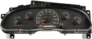 1999 - 2001 Ford E350, E450, Super Duty Econoline Van Instrument Cluster Repair Diesel Only