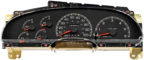 1997-1998 Ford F150 F250 Expedition Instrument Cluster Repair Gas Only