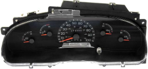 1998 Ford E250 E350 Stripped Chassis Econoline Van Instrument Cluster Repair Gas Only