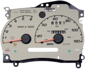 2003 Ford Ranger Instrument Cluster Repair