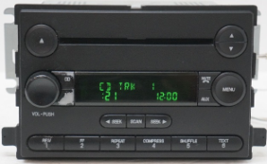 2005 - 2006 Ford Freestar Radio Digital Display Repair Service