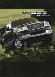 2005 Ford F-150 Owner's Manual with Case