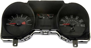 2004 - 2005 Ford Mustang Instrument Cluster Repair (w/o Traction Control, 4 Gauge, 120 MPH, 7000 RPM)