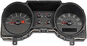 2004 - 2005 Ford Mustang Instrument Cluster Repair (4.0L, 6 Gauge, 120 MPH, 7000 RPM)