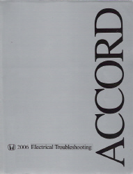 2006 Honda Accord Factory Electrical Troubleshooting Manual