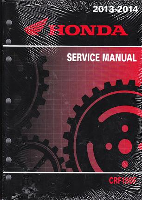 2003-2014 Honda CRF150F Factory Service Manual