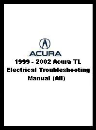 1999 - 2002 Acura TL Electrical Troubleshooting Manual