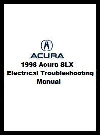 1998 Acura SLX Electrical Troubleshooting Manual